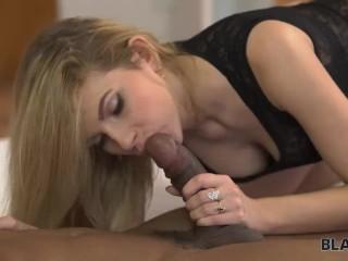 BLACK4K. Big cock of blonde's new friend brings absolute satisfaction