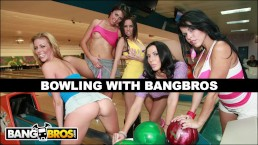 BANGBROS - Bowling For Pornstars With Rachel Starr, Diamond Kitty, And More