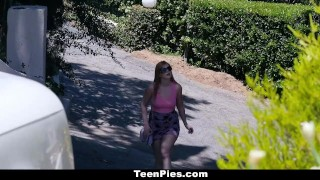 TeenPies - Teen Seeking Home Gets Boned