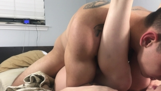My 18 y/o GF wraps her lips around my cock then rides me Pussyjob pussyjob