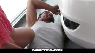 DaughterSwap - Fucking Each Others Step Dads is Fun