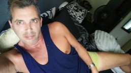 Tricked DILF Male Celebrity Cory Bernstein to MASTURBATE and EAT his CUM