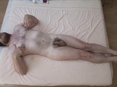 Prostate massage, playing with toys and sexy body show off (quiet moment)