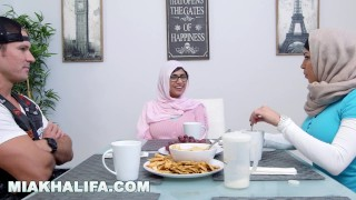 MIA KHALIFA - The Video That Took MK's Career To A New Level  big tits big cock babe licking glasses miakhalifa hijab ffm lebanese cock sucking cowgirl muslim latina arab mia khalifa big boobs hand job