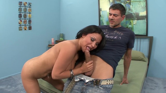 Cheating Big Tit Latina MILF Gets Tricked Into Porn 5