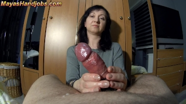 3 cumshots in a row perfectly ruined orgasms