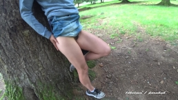 No one saw our private fun in nature ! The good version .Amateur couple 4k