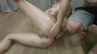 I like when they fist me and I orgasam hard, amateur model Point babe
