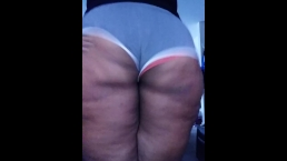 Twerking in the living room w/Milky tits dripping in the end!