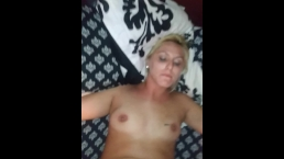 Wife strapped to bed