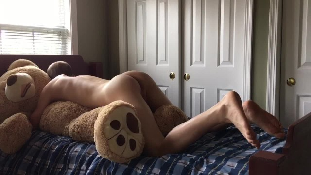 How o u have sex - Having sex with my teddy