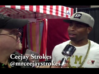 Ceejay Strokes with Jiggy Jaguar Exxxotica Expo 2018