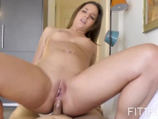 Fit18 - Amirah Adara - 47kg - Creampie In A Tight Little Ass