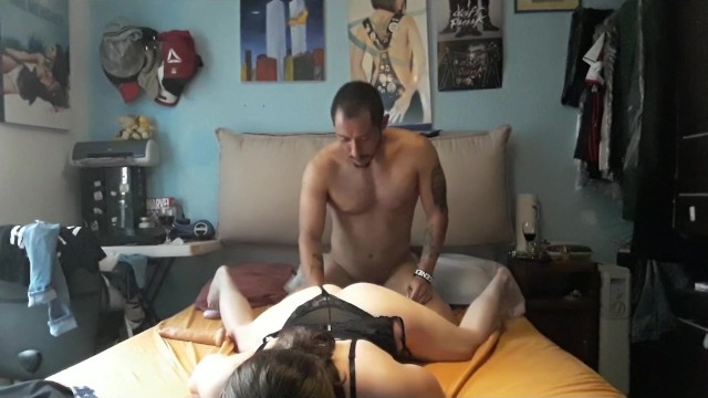 Cute College Girl in sexy lingerie gives passion session of sex 4
