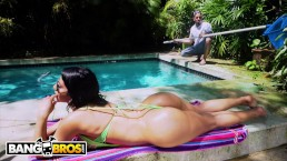BANGBROS - Rose Monroe Drops That Perfect Latin Booty On Bruno Dickemz