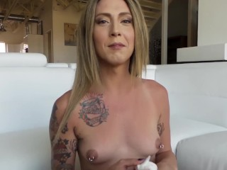 Athena Addams BTS Interview