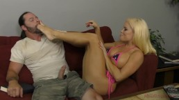 Hot Latina Dominates Her Next Door Neighbor - Nikki Delano - Femdom