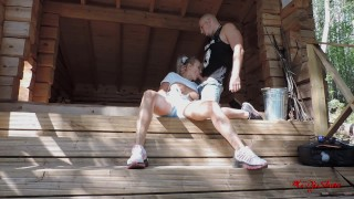 Screen Capture of Video Titled: Walk in the forest