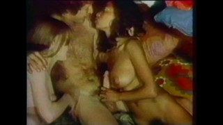 Vintage Orgy With Giant Cock
