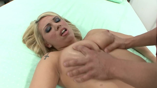 Teen With Huge Tits Dresses Up Like Police Officer & Rides Huge Cock 6
