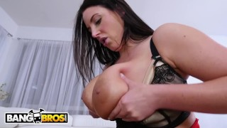 From bangbros busty isiah white angela anal takes maxwell tits cowgirl