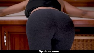 TeamSkeet - Hot Latina Chick Shows Her Fave Positions  big ass big tits big cock booty tattoo hispanic busty teamskeet curvy brunette butt latina canela skin latin big boobs oyeloca