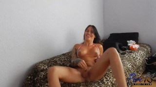 Nadia Love BTS Interview Boobs pounded