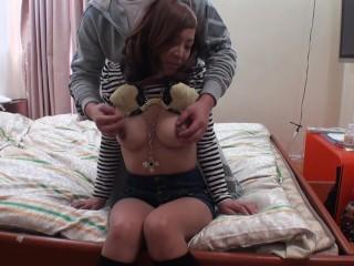 Sucking Sexy Asian Tits!