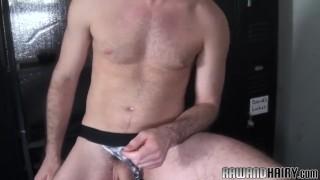 Bearded bear pounding tight butthole