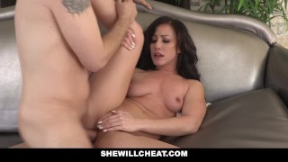 SheWillCheat - Hot Wife Cheats with Husbands Partner
