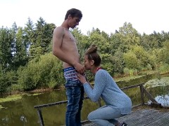 Deepthroat am See + AIR Max Besamung !!!