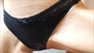She said i need sex and fast cum in my panties before going to work