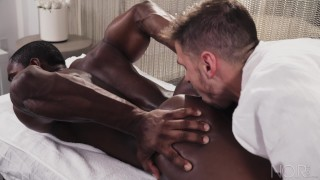Noirmale daddy black full massage fucking hunk sexy scene interracial dick