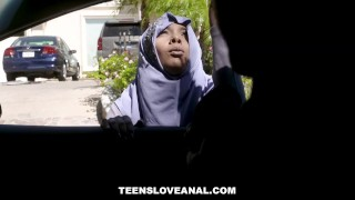 TeensLoveAnal - Teen in Hijab Gets Analed