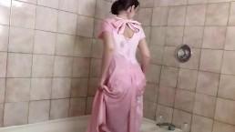 Vintage Dress Wetlook