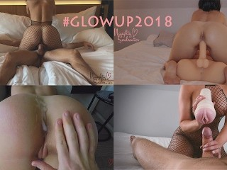 Our first year on Pornhub #Glowup2018 - Naughtysoulmates