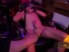 Sir milking and edging twink slave