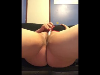 Beautiful BBW Rae makes pussy squirt