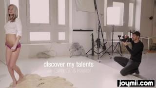 Model Gina Gerson seduces best friends boyfriend and swallows his cum