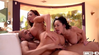Busty American Milfs Dayton Raines & Richelle Ryan Fuck Lucky Pool Boy Stud Teen pissing