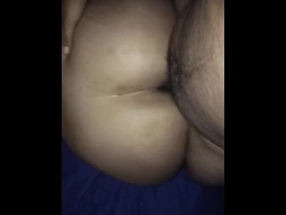 Teen PAWG takes dick.