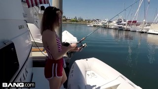 Bisex & barely legal teen Rosalyn Sphinx fucked on a boat  tattooed women point of view boat blowjob bangrealteens small tits toys hardcore petite drilled shaved eye contact rpsalyn sphinx readhead fishing bang bang real teens
