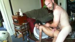 Hot Bareback Big Dick Daddy Fucks Hot Interracial Otter