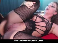 DeviantHardcore - Interracial Anal Slut Gets Dominated