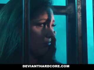 Preview 6 of DeviantHardcore - Interracial Anal Slut Gets Dominated