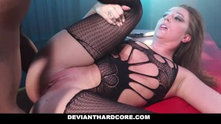 Deviant Hardcore - Interracial Anal Slut Maddy Oreilly Gets Dominated