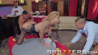 Brazzers- Bonnie Rotten The Cumback - Tattooed pornstar gets dped