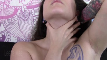 Showing Off My Sexy Neck and Collarbones