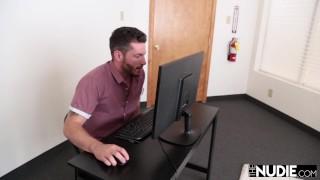 Dillion Harper Fucks Coworker Before Yoga
