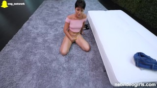 Gets tight audition perfect during a pussy pleasured cowgirl perfect